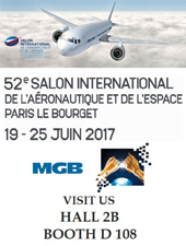 MGB Salon du Bourget 2017
