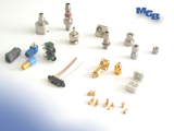 connector, connector right angle, connector bulkhead, connector PCB